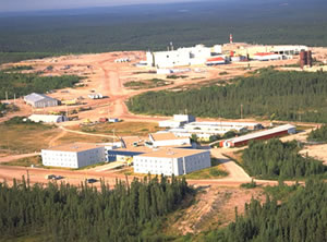 Figure 1: Rabbit Lake uranium mill (Photo courtesy of Cameco Corporation).